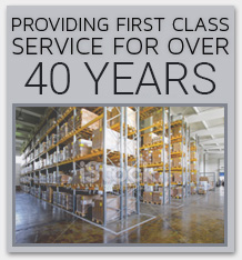 First Class Service for over 40 Years